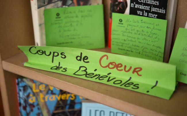 Librairie Oxfam association de bénévoles. Paris