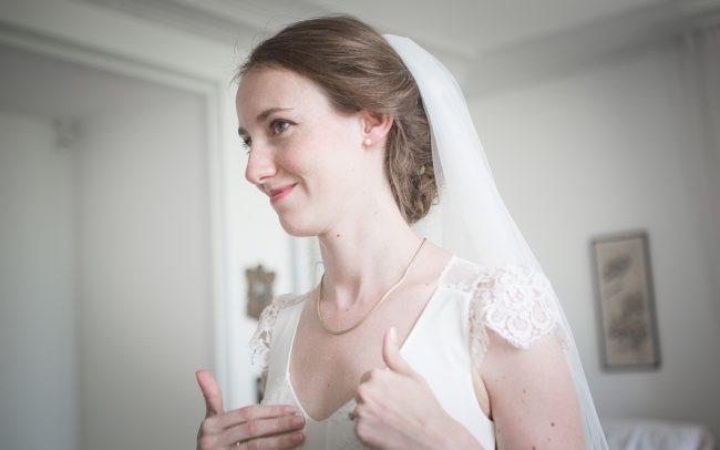 Robe et voile de Mariage