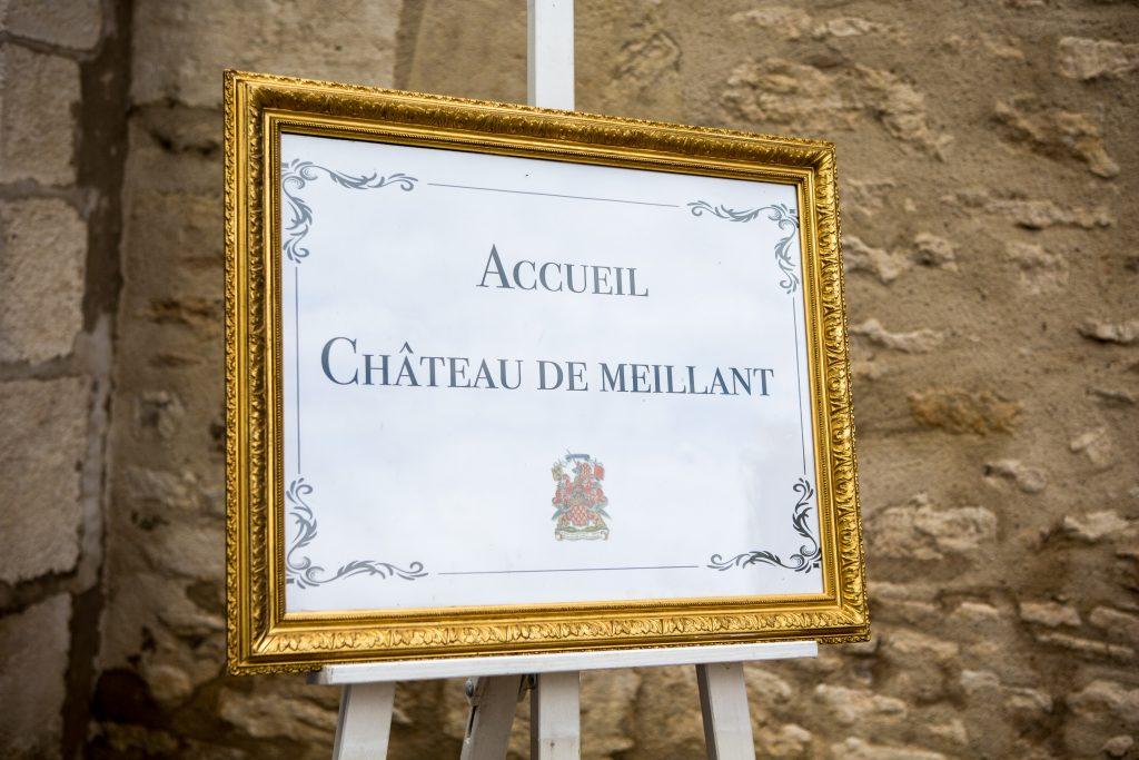 Détail communication château de Meillant en Berry