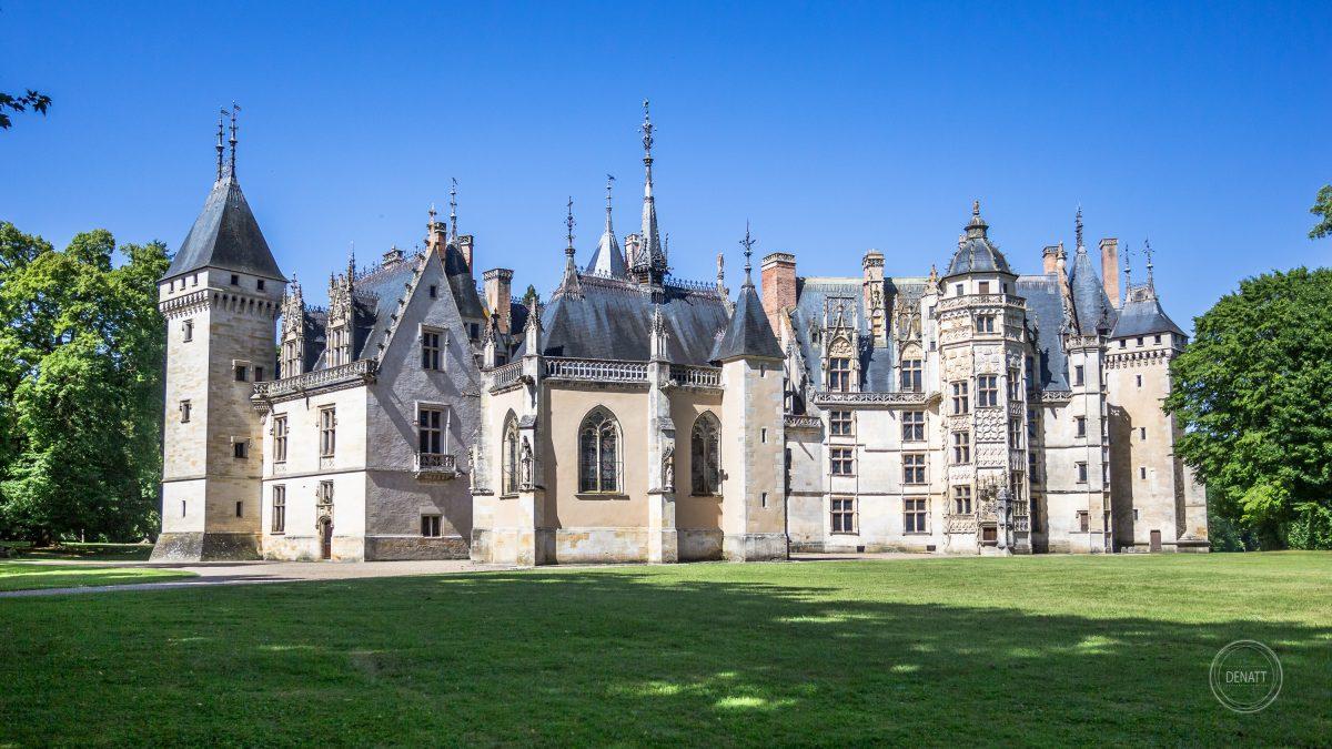 Château de Meillant en été