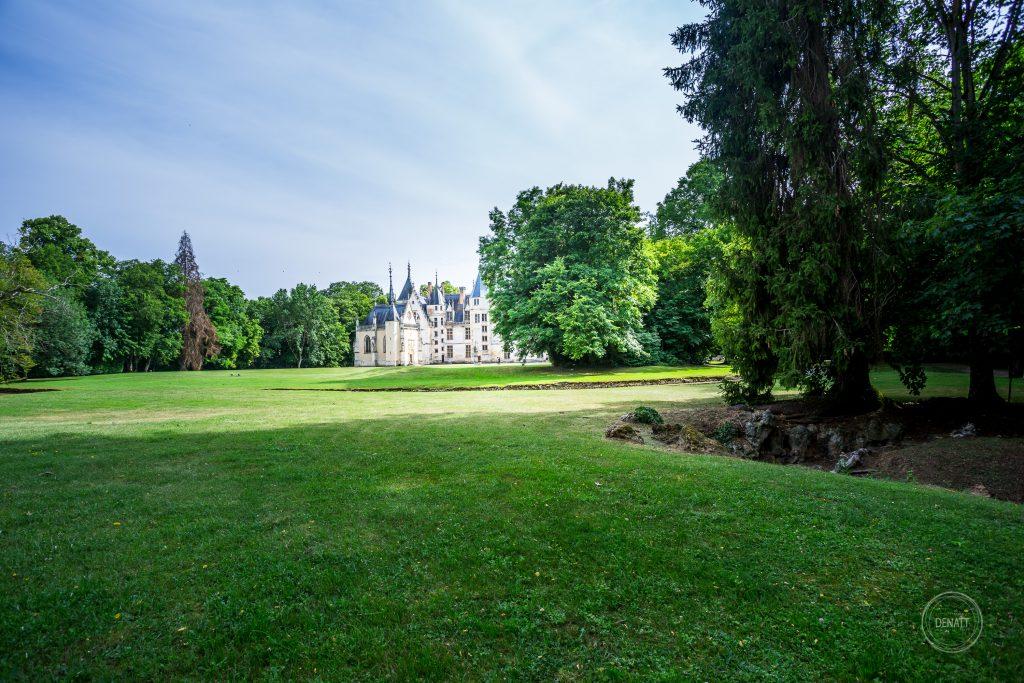 Parc et Chateau de Meiallant dans le Cher