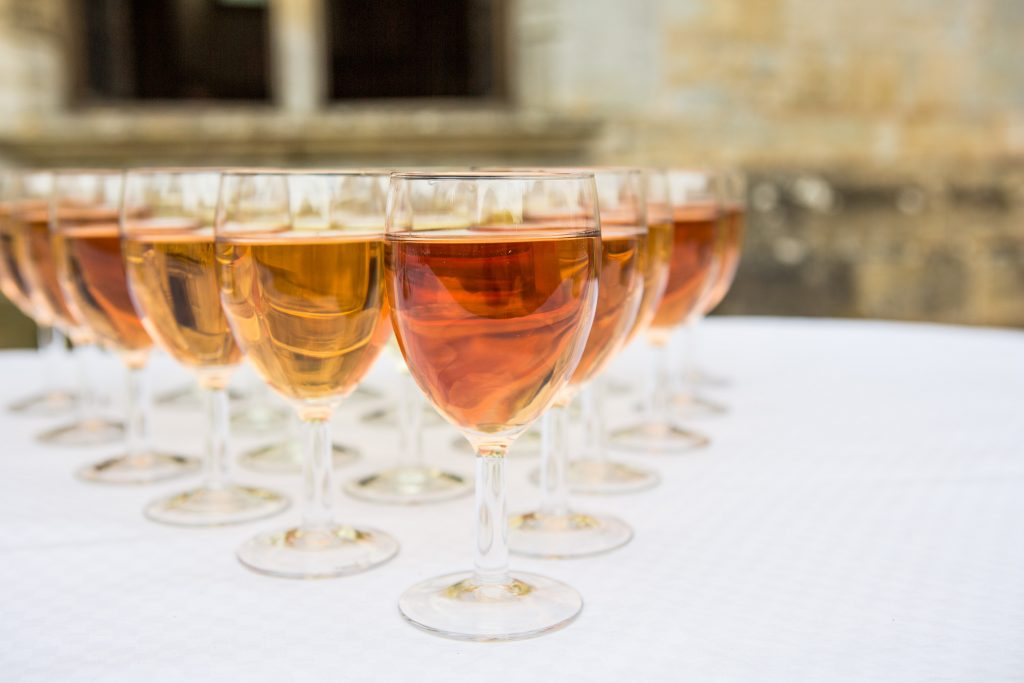 Cocktail et vin d'honneur mariage