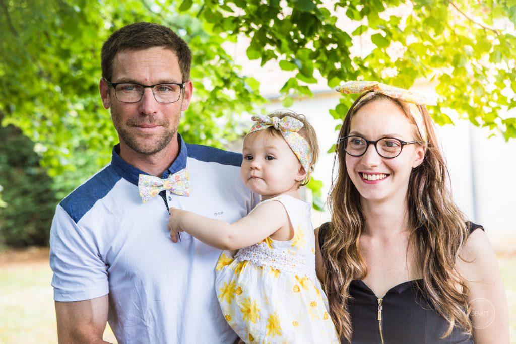 Portrait de famille Baptême