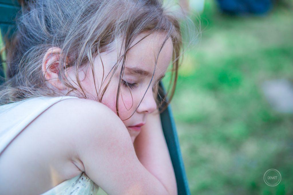 Enfant endormie cousinade