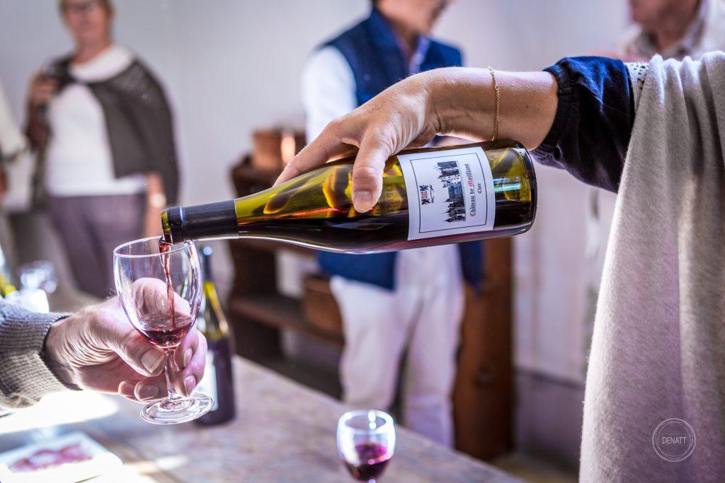 Vin rouge du château de Meillant dans le Berry