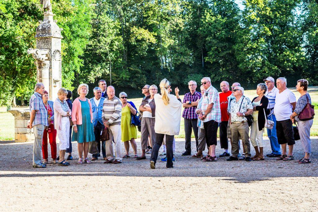 Visite guidée au château de Meillant
