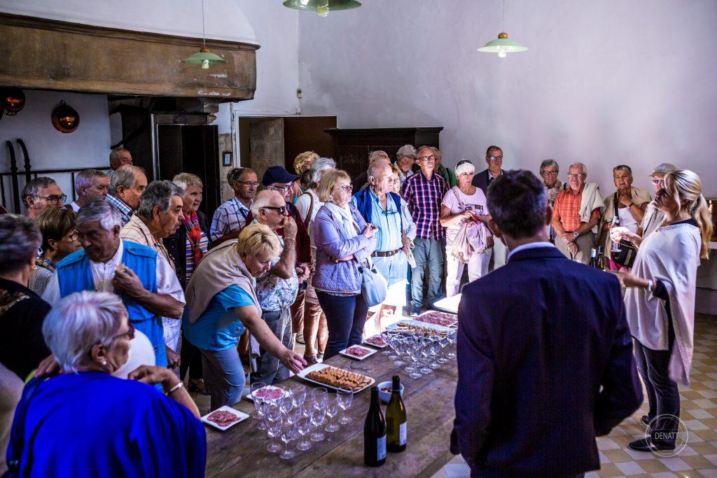 explication des vins du Berry au château de Meillant