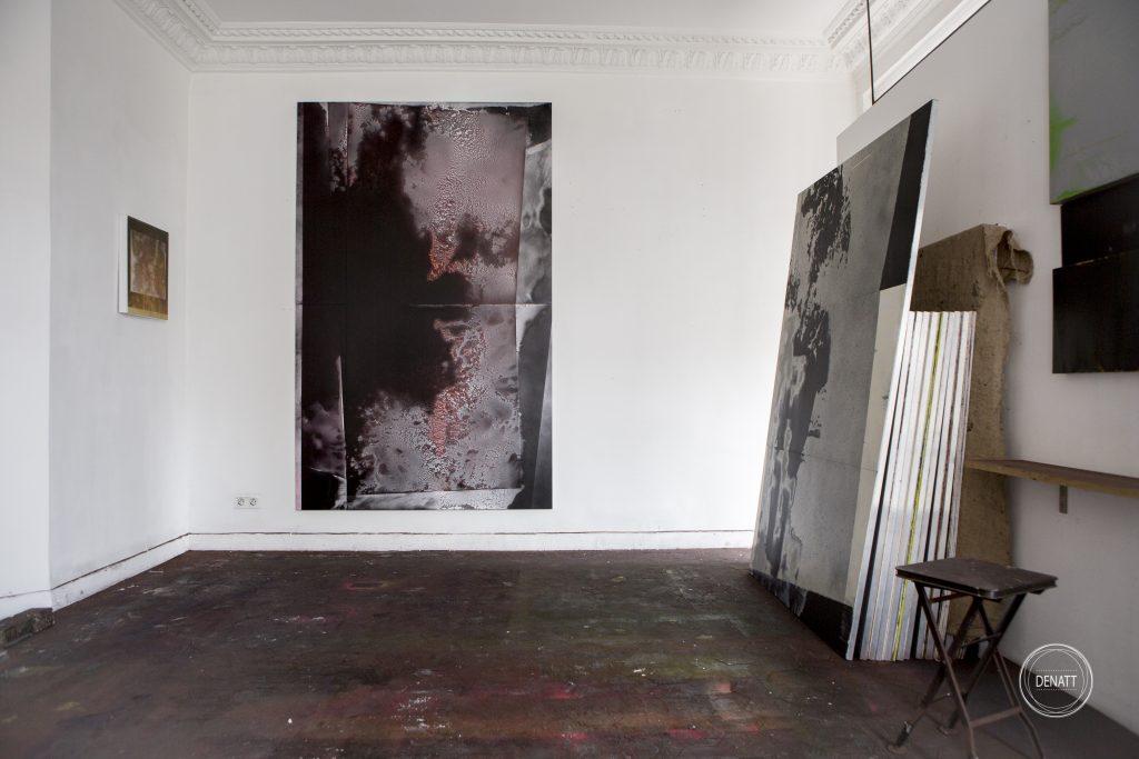 Atelier de l'artiste Sylvain Polony, Saint Ouen