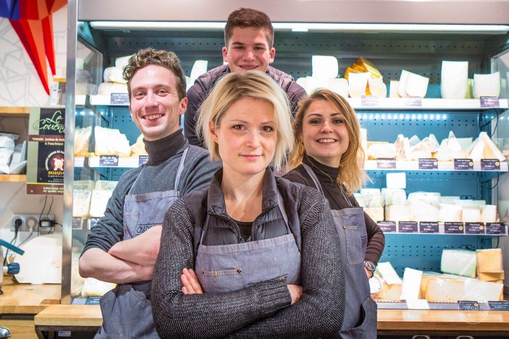 Photo de l'équipe Charlicot, fromagerie Paris 11ème