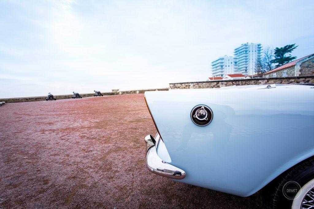 Aileron arrière et bouchon d'essence, collection Sunbeam par Agence Denatt