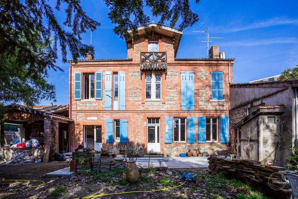 Maison toulousaine refait par architecte Sylvain Lefranc